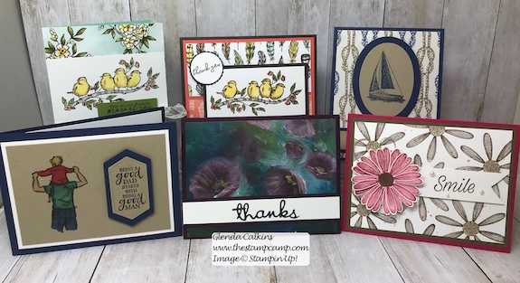 Weekly Card Giveaway.... Winner! Is it You? Every Sunday on my blog I announce the winner of the cards for the week. See the blog post here: https://wp.me/p59VWq-a9D for the details. #stampinup #thestampcamp #weeklycardgiveaway