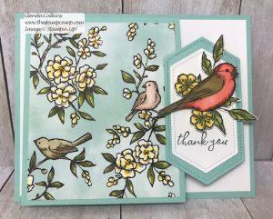Free As A Bird Flip Up Fun Fold Card