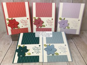 Stampin' Up! In Colors and Floral Essence