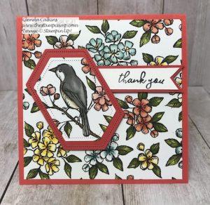 Free As A Bird Thank You Card