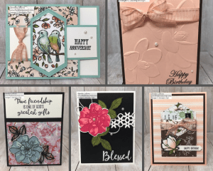 Stampin' Up! Card Giveaways for this Week!