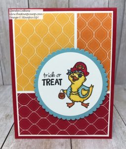 Stampin' Up! Birds of a Feather Trick or Treat?