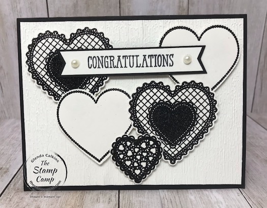 The Heartfelt Bundle isn't just for Valentine's Day you can use it for multiple occasions. Details are on my blog here: https://wp.me/p59VWq-aKt #stampinup #heartfelt #thestampcamp #wedding