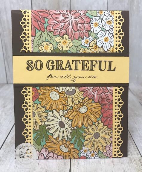 Ornate Garden Gift Card Holder for Mother's Day