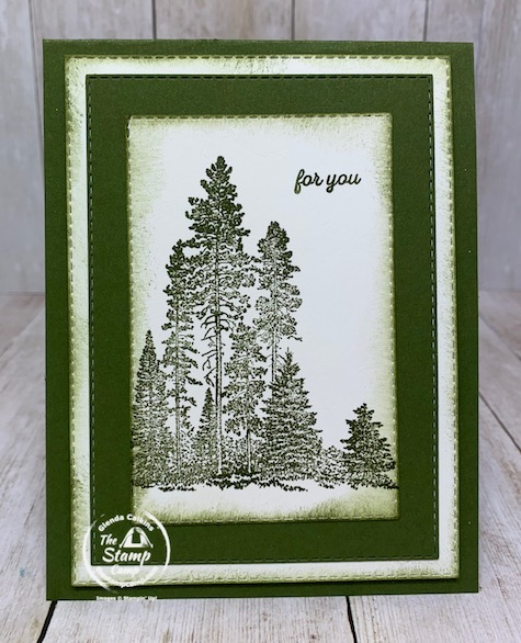 What Stamp Set Has This Grouping of Trees?