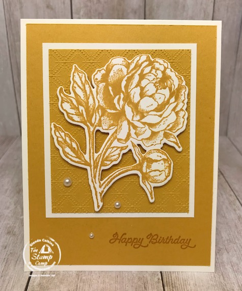These are the New 2020-2022 In Colors from Stampin' Up! This group of new In Colors go together so well; I love the vibrant colors. I paired this month's In Color Club Member cards with the Prized Peony stamp set; which is my featured stamp set for July 2020. I also have a great Tip to share regarding dies and framelits. Details are on my blog here: https://wp.me/p59VWq-bl9 #stampinup #dies #prizedpeony #thestampcamp