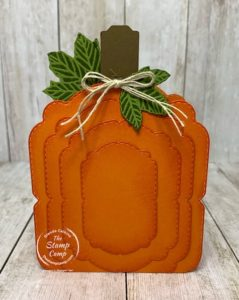 Make It Monday - Pumpkin Box