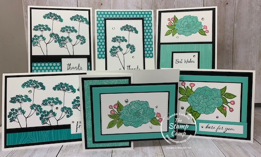 September has 2 featured stamp sets to enjoy. The Queen Annes Lace and So Much Love from Stampin' Up! Want them for FREE? Click here for all the details:https://wp.me/p59VWq-bri. #stampinup #thestampcamp #freestamps #cardkits
