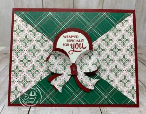 Gift Wrapped with Tis the Season Designer Paper