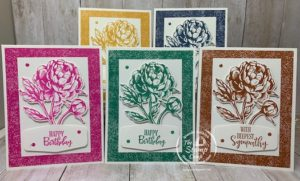 In Colors with Prized Peony Stamp Set/Bundle