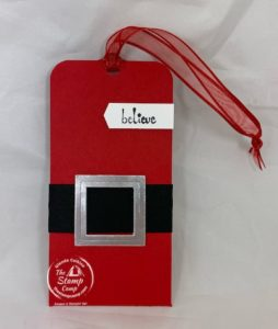 Make It Monday - Santa Tag and Gift Card Holder