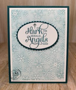 Faux White Wash Technique with Embossing Folders