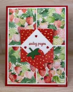 Fun Fold Friday - Berry Delightful Paper Flip
