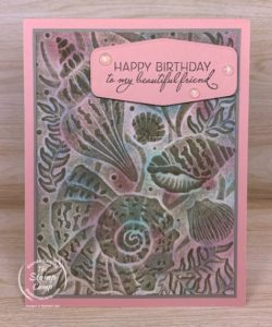Technique Tuesday - Antiquing 3D Embossing Folders