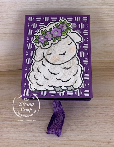 What's better than a treat box? A treat box with a pop up bunny inside that's what! You can create this super quick and easy pop up box for any occasion. #stampinup #thestampcamp #treatbox