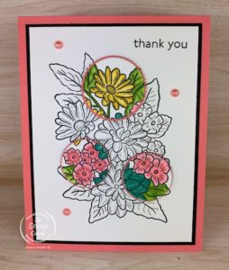 Have you tried the Spotlight technique yet? This is an oldie but a goodie technique and today I chose the Ornate Style stamp set from Stampin' Up! #thestampcamp #stampinup #technique